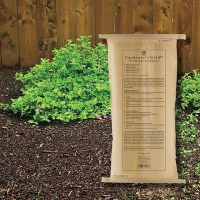 16 Qt. Gardener's Gold Premium Bagged Compost