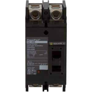 PowerPact 200 Amp Q-Frame Molded Case 2-Pole Circuit Breaker