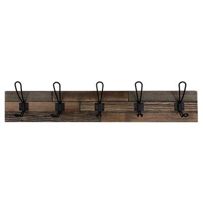 Industrial Wood Wall Hooks