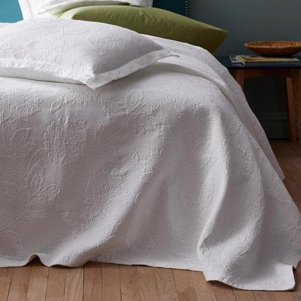 The Company Store Putnam Matelasse Midnight Blue Cotton Standard Sham 50170f Std Mid Bl The Home Depot