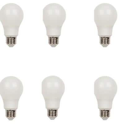 60W Equivalent Daylight Omni A19 Dimmable LED Light Bulb (6-Pack)