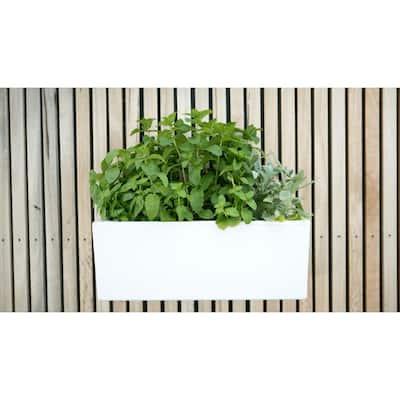 23.6 in. x 10.1 in. Plastic Mini Wall Planter