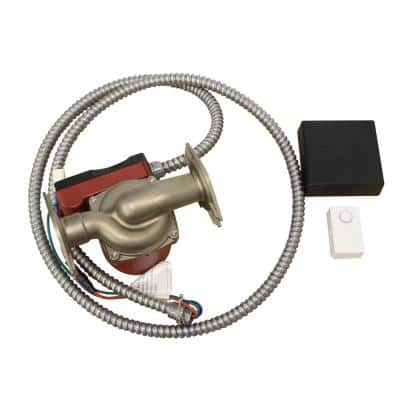 Control-R Wireless Demand Recirculation Kit with Push Button and Pump