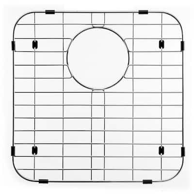 Wirecraft 14.13 in. x 14.13 in. Bottom Grid for Kitchen Sinks in Stainless Steel