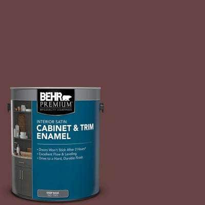 1 gal. #MQ1-14 Twinberry Satin Enamel Interior Cabinet and Trim Paint