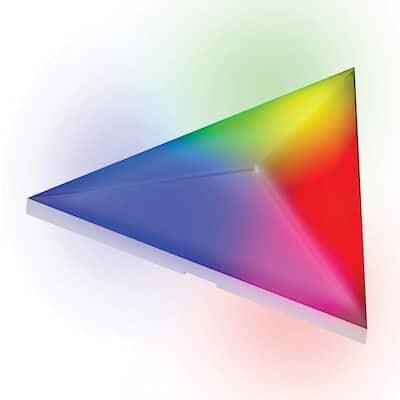 Smart Prism Modular 11 in. x 10 in. 3D LED Art Panels Starter Kit