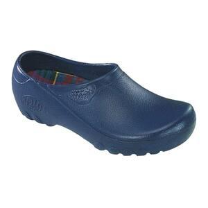 Women's Navy Blue Garden Shoes - Size 6