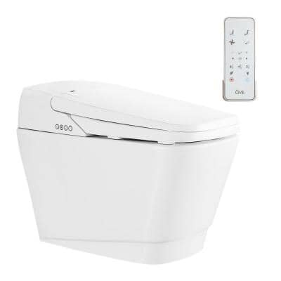 Vovo Elongated Bidet Toilet in White