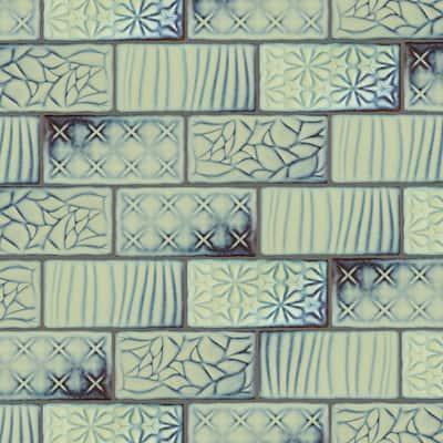 Antic Sensations Agua Marina 3 in. x 6 in. Ceramic Wall Subway Tile (4.38 sq. ft. / Case)