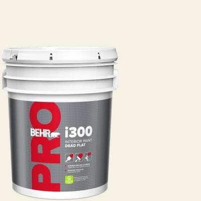 5 gal. #ECC-16-2 Bright Moon Dead Flat Interior Paint