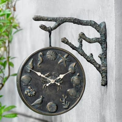 Undersea Life Garden Clock