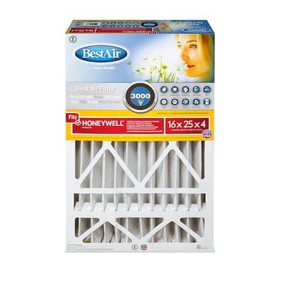 16 x 25 x 4 Honeywell FPR 10 Air Cleaner Filter