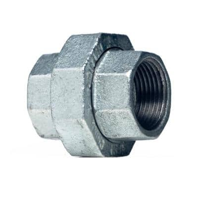 1/2 in. Galvanized Malleable Iron FPT x FPT Union
