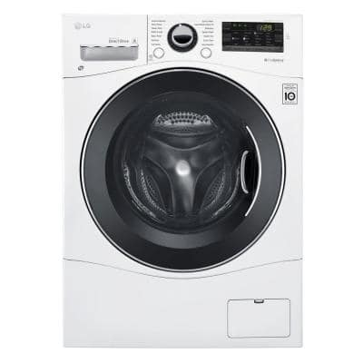 2.3 cu. ft. White Compact All-in-One Front Load Washer and Electric Ventless Dryer Combo