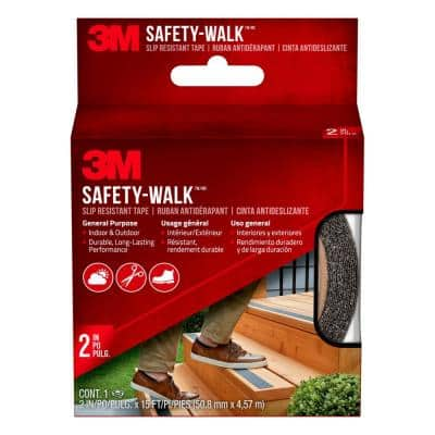 2 in. x 15 ft. Safety Walk Step and Ladder Tread Tape