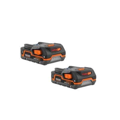 18-Volt 1.5 Ah Compact Lithium-Ion Battery (2-Pack)