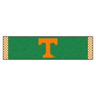NCAA University of Tennessee 1 ft. 6 in. x 6 ft. Indoor 1-Hole Golf Practice Putting Green