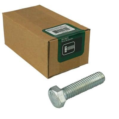 5/16 in.-18 x 2 in. Zinc Plated Hex Bolt (50-Pack)