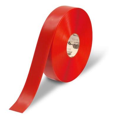2 in. Red Heavy-Duty Floor Tape 100 ft. Roll