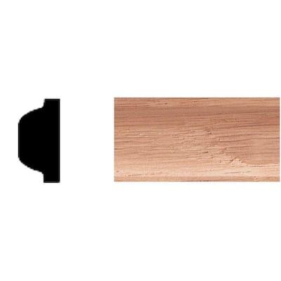 3/8 in. x 3/4 in. x 8 ft. Oak Shelf Strip Moulding