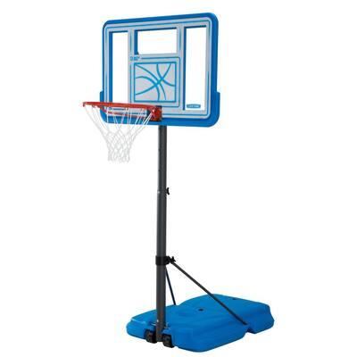 44 in. Polycarbonate Pool Side Adjustable Portable Basketball Hoop