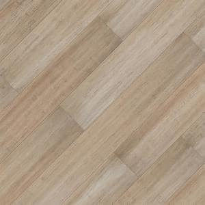 Mojave 7 mm T x 5.2 in W x 36.22 in L Waterproof Engineered Click Bamboo Flooring (13.07 sf/case)