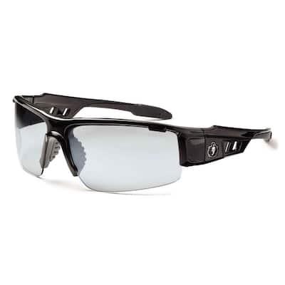 Skullerz Dagr Black Anti-Fog Safety Glasses, In/Outdoor Lens - ANSI Certified