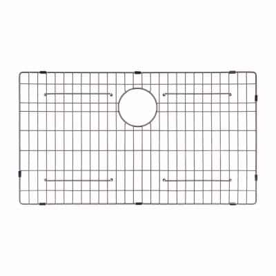 Stainless Steel Bottom Grid for Single Bowl 32 in. Kitchen Sink, 29-9/16 in. x 16-9/16 in. x 1-3/8 in.