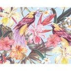 Tropical Exotic Flowers Wall Mural