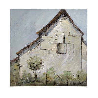 Vintage Farmhouse Hand Painted Canvas Wall Art