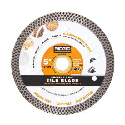 5 in. Turbo Mesh Rim Diamond Blade