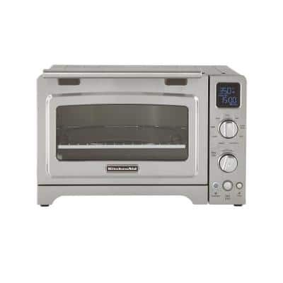 2000 W 4-Slice Stainless Steel Convection Toaster Oven