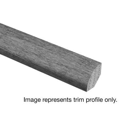 Hickory Sculpted Rich Doeskin 3/4 in. Thick x 3/4 in. Wide x 94 in. Length Hardwood Quarter Round Molding