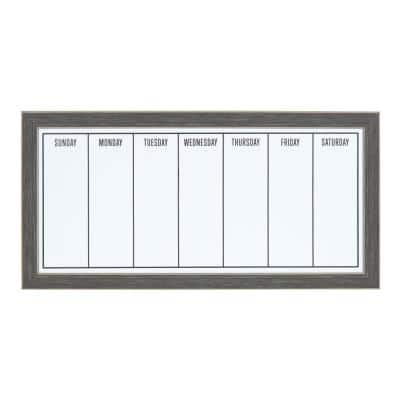 Wyeth Weekly Dry Erase Calendar Memo Board