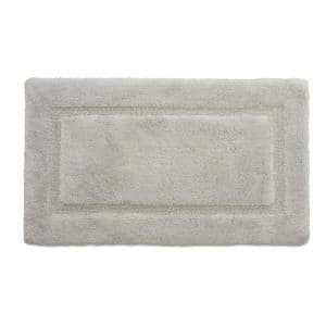 Laura Ashley Solid Bordered Ringspun, Bathroom Accent Rugs