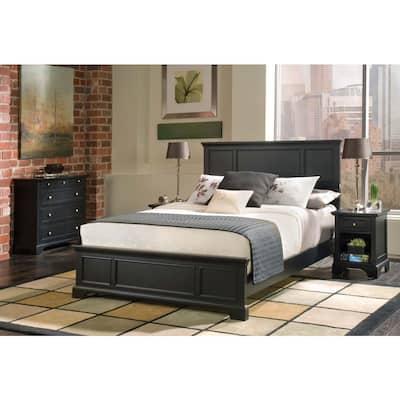 Bedford 4-Piece Black Queen Bedroom Set