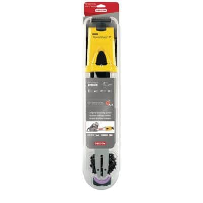 16 in. PowerSharp Chain and Bar Starter Kit, PS56 Chain, 0.050-Gauge 3/8 in. Low Profile Chain