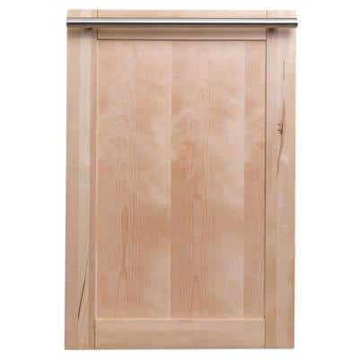 18 in. Wood Grain Top Control Smart Touch Dishwasher 120-volt with Stainless Steel Tub