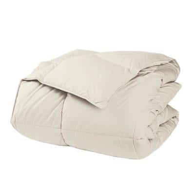 LaCrosse LoftAIRE Medium Warmth Ivory Full Down Alternative Comforter
