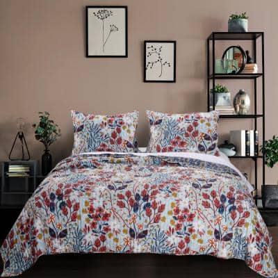 Perry 3-Piece King Quilt Set