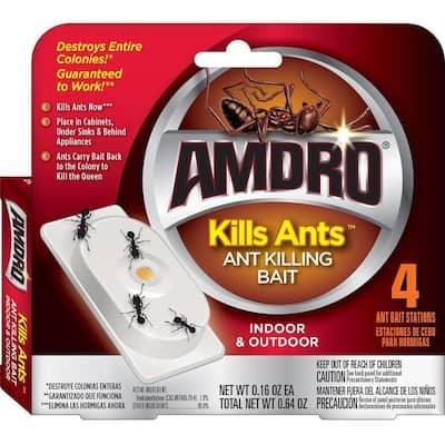 Kills Ants Bait Station (4-Pack)