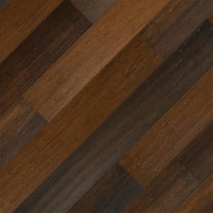 Charlestone 7 mm T x 5.2 in W x 36.22 in L Waterproof Engineered Click Bamboo Flooring (13.07 sf/case)