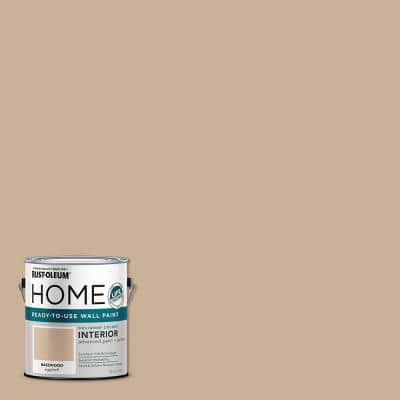 1 gal. Eggshell Basswood Interior Wall Paint (2-Pack)