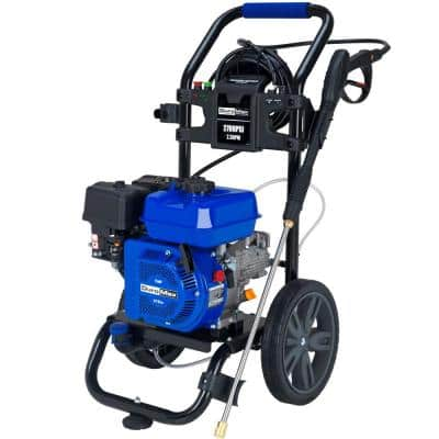 180cc 2,700 PSI 2.3 GPM Axial Cam Pump Gas Powered Water Pressure Washer