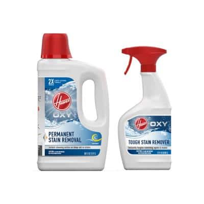 50 oz. Oxy Carpet Cleaner Solution & 22 oz. Oxy Stain Remover Carpet Cleaner Pretreatment Spray Pack Combo Kit