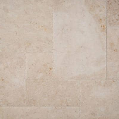 Cappuccino Honed Pattern Marble Floor and Wall Tile (10 kits / 80 sq. ft. / pallet)