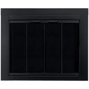 Ascot Medium Glass Fireplace Doors
