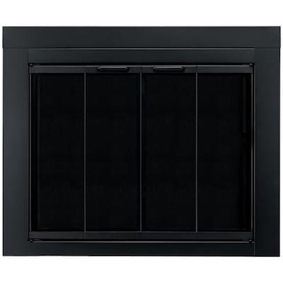 Ascot Large Glass Fireplace Doors