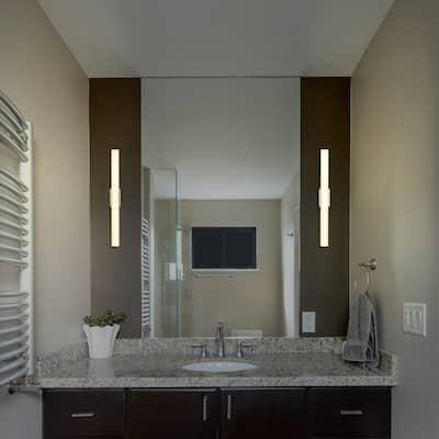 Procyon VMW11200AL 24 in. Silver LED Vanity and Bathroom Lighting Fixture