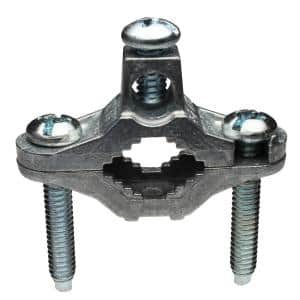 1/2 in. - 1 in. Zinc Ground Clamp (25-Pack)